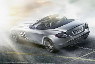 Mercedes Benz SLR McLaren Roadster 2 wallpaper