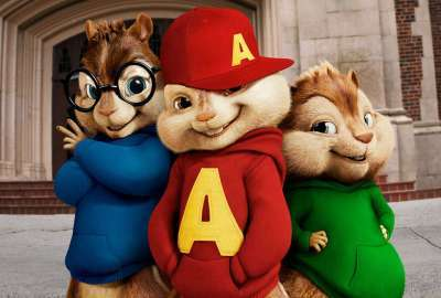 Alvin and the Chipmunks Squeakquel wallpaper