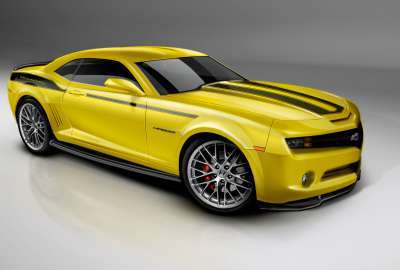 Camero Yellow wallpaper