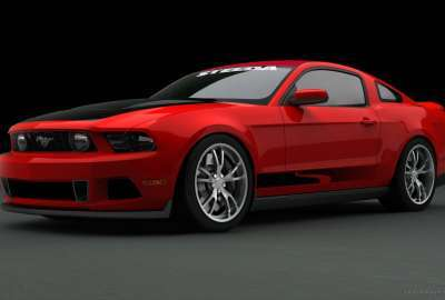 Ford Mustang at SEMA 3 wallpaper