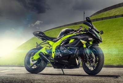 NINJA ZX 6R BIKE wallpaper