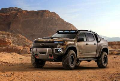 Chevrolet Colorado Zh Fuel Cell Army Truck wallpaper