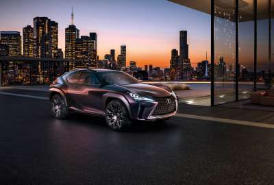 Lexus UX Luxury Crossover Concept 4K wallpaper