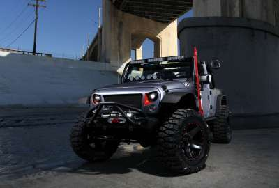 Omix ADA Custom Jeep Wrangler wallpaper