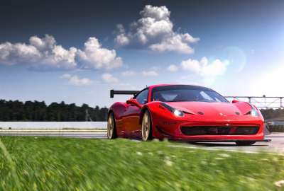 Racing One Ferrari LOMA Wheels wallpaper