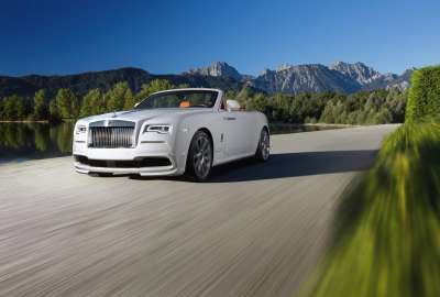 Spofec Rolls Royce Dawn wallpaper