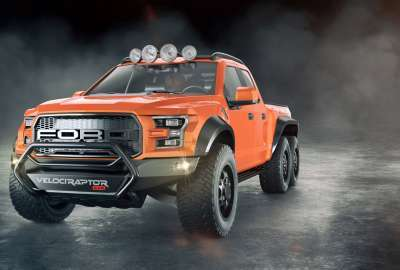 Ford F Velociraptor wallpaper