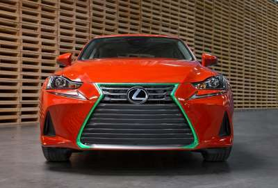 Lexus Sriracha IS wallpaper