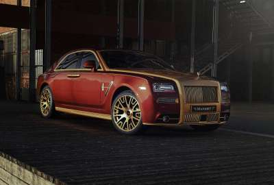 Mansory Rolls Royce Ghost 4K wallpaper