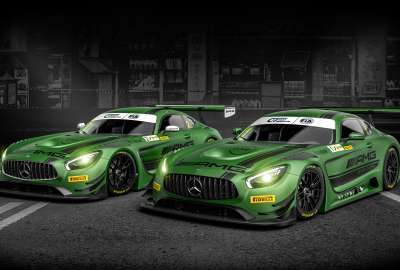 Mercedes AMG GT3 wallpaper