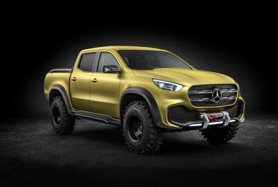 Mercedes Benz X Class Pickup Concept 8K wallpaper