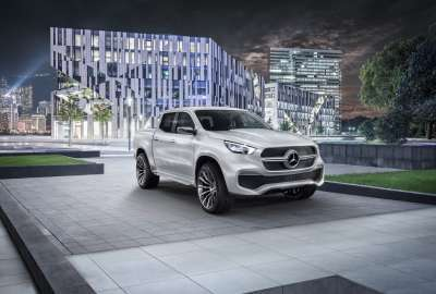 Mercedes Benz X Class Pickup Truck 4K 8K wallpaper
