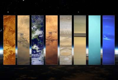 Pillars of the Solar System wallpaper