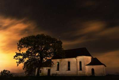 Abandoned Church Sky wallpaper