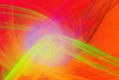 Abstract orange, yellow and red background wallpaper