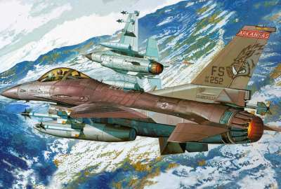 Academy 1 F-16C Block 25 Fighting Falcon Kit wallpaper