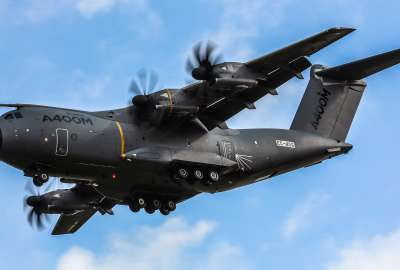 Airbus A400M Atlas Military Transport Aircraft wallpaper