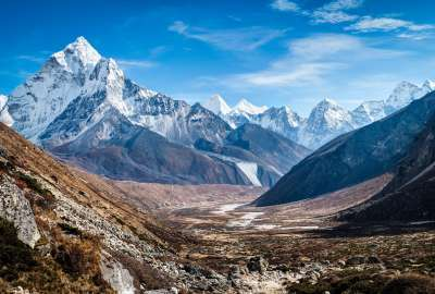 Ama Dablam Himalaya Mountains wallpaper