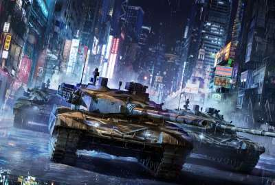 Armored Warfare Game 5K wallpaper