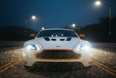 Aston Martin V Vantage S Headlight wallpaper
