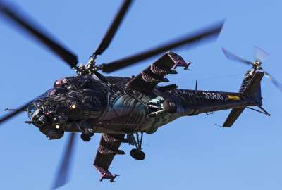 Attack Helicopter Mil Mi 24 wallpaper