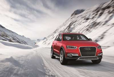 Audi on Ice wallpaper