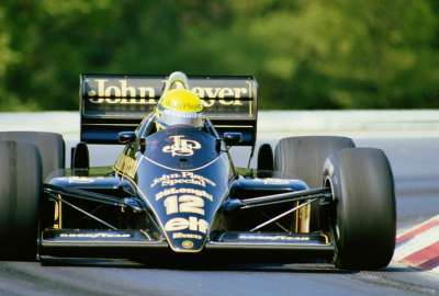 Ayrton Senna Lotus-Renault 98T wallpaper