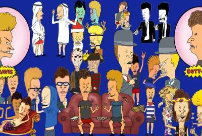 Beavis and Butthead wallpaper