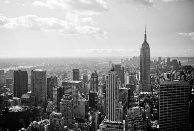 Black and White New York wallpaper