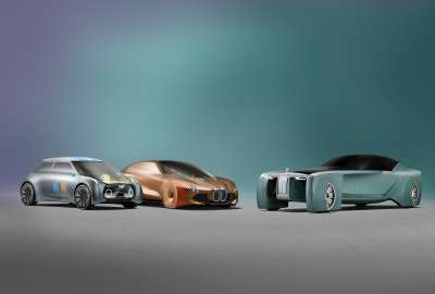 BMW MINI Rolls Royce Vision Next 4K wallpaper