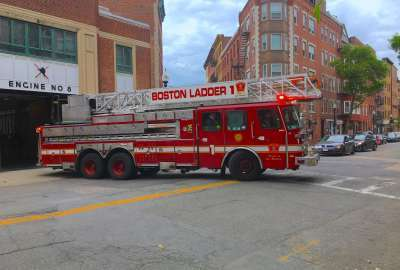 Boston Fire Department Ladder 1 wallpaper