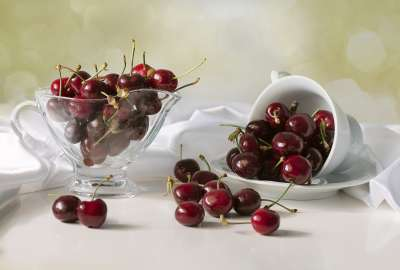 Bowl of Cherries 1404 wallpaper