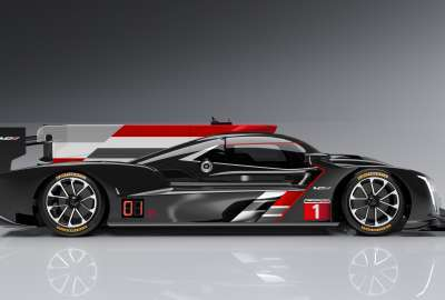 Cadillac DPi VR Prototype Race Car 4K wallpaper