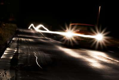 Car Headlights Effect wallpaper
