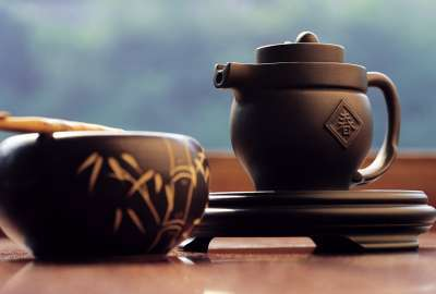 Chinese Tea Cup wallpaper