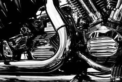Chopper Exhaust Pipe wallpaper