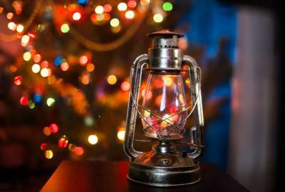 Christmas Lamp wallpaper