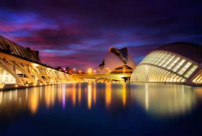 City of Arts and Sciences Valencia Spain wallpaper
