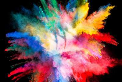 Color Burst WQHD wallpaper