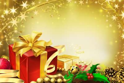 Colorful Gifts for Christmas wallpaper