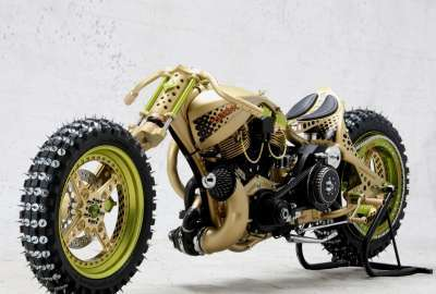 Cool Modified Motorcycle wallpaper