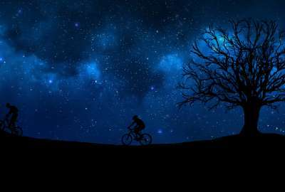 cycling wallpaper 400x270 MM 100