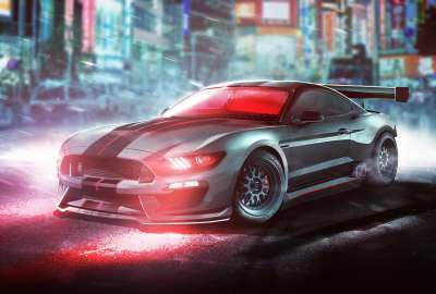 Cyclops Ford Shelby Mustang GT350R X Men wallpaper