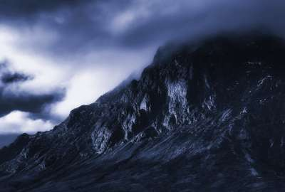 Dark Mountain wallpaper