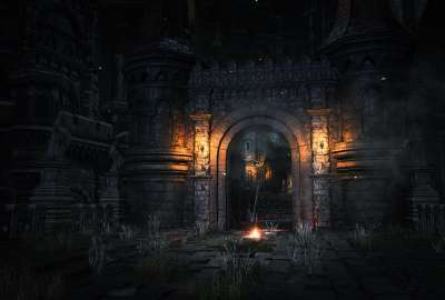 Dark Souls Castle wallpaper