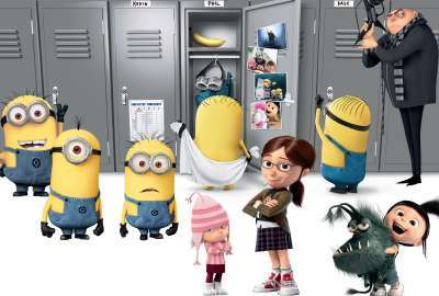 Despicable Me 2 3d 2013 wallpaper