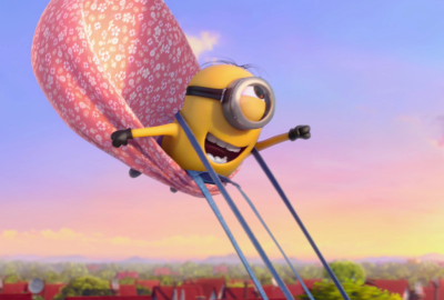 Despicable Me 2 Flying wallpaper
