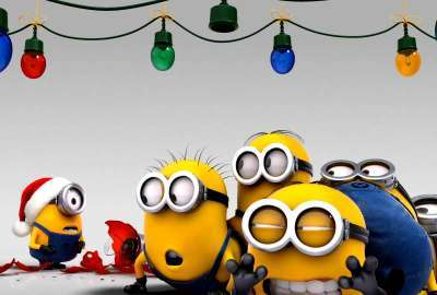 Despicable Me Chrismas HD wallpaper
