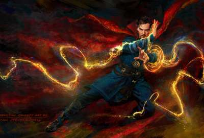 Doctor Strange Concept Art 4K wallpaper