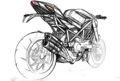Ducati Streetfighter Design wallpaper
